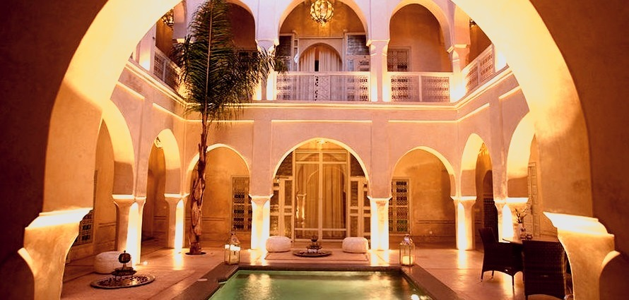 There once was a girl named Yela, whose journal was found inside a 300-year-old palace in Moroccos bustling red city of Marrakesh. Now a world-renowned hotel, the Anayela Riad offers...