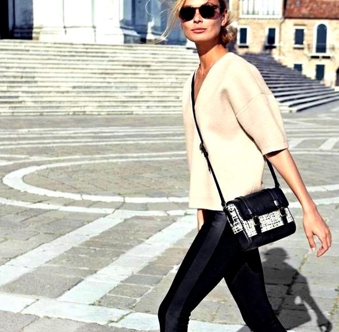 Luxury Fashion Model in the Street
