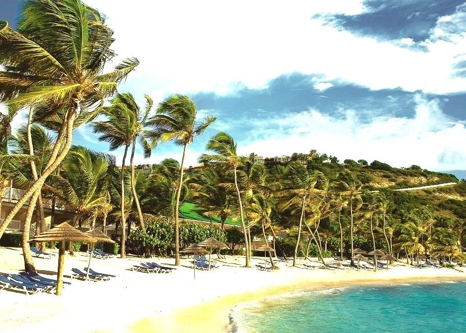 Caribbean, Landscape, Beach, Antigua, Resorts