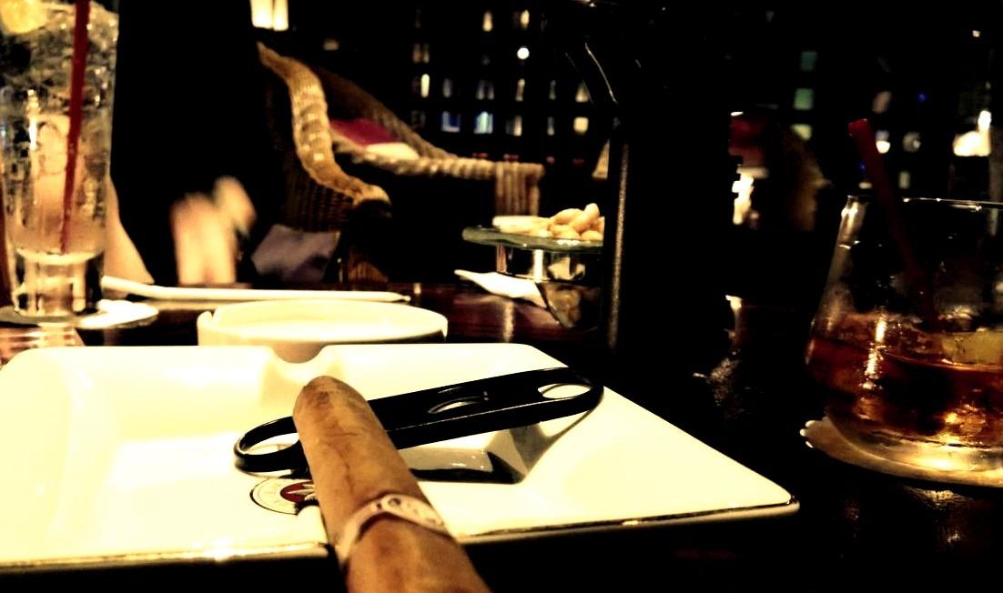 Hedonism, Cigar, Smoking, Bar, Scotch